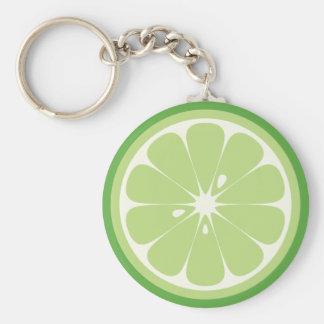 Limone Scheibe Schlüsselanhänger