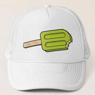 Limoner Popsicle beißen mich der Hut (weiß) Truckerkappe