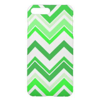 Limones grünes Zickzack Muster iPhone 7 Plus Hülle