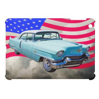 Limousine 1956 Deville Cadillac und amerikanische iPad Mini Hülle