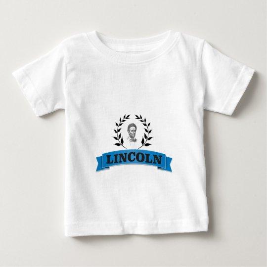 Lincoln-Blau Baby T-shirt