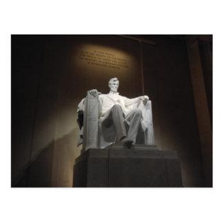 Lincoln MemorialPostcard Postkarte