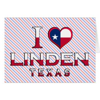 Linden, Texas Karte