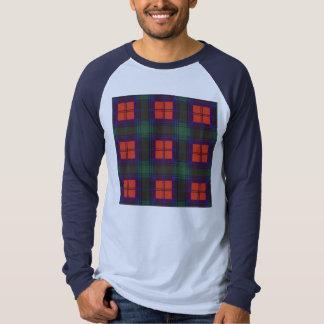 Lindsay-Clan karierter schottischer Tartan T-Shirt