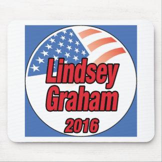 Lindsey Graham für Präsidenten im Jahre 2016 Mauspads