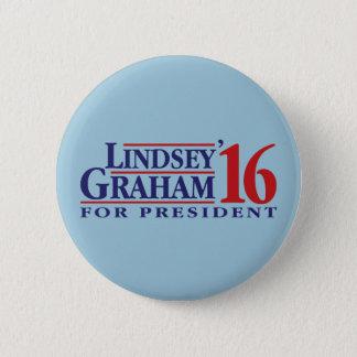 Lindsey Graham für Präsidenten Runder Button 5,1 Cm