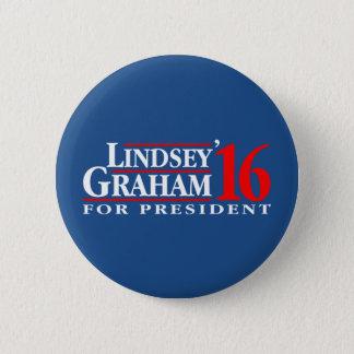Lindsey Graham für Präsidenten Runder Button 5,7 Cm