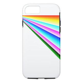 Linearer Kasten des Regenbogen-iPhone7 iPhone 8/7 Hülle