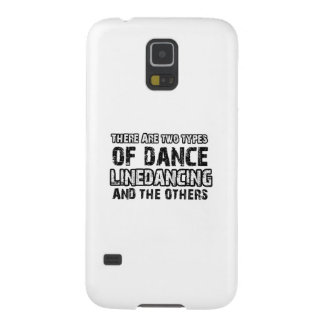 Linedancing Tanzenentwürfe Galaxy S5 Cover