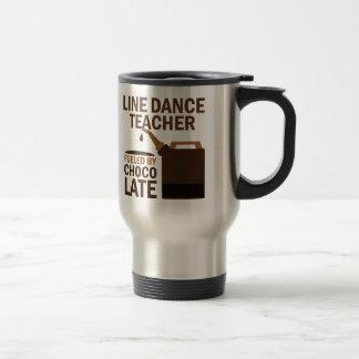Linie Tanz-Lehrer getankt durch Edelstahl Thermotasse