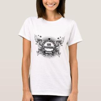 Linie Tänzer-Cowgirl T-Shirt