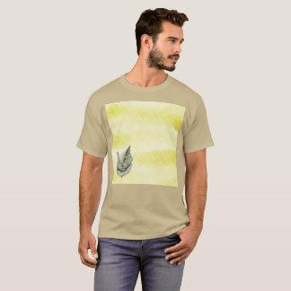 Linksgerichteter sich hin- und herbewegender Gato T-Shirt