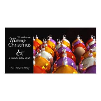 L'INTRUS - carte personnalisée de Joyeux Noël Modèle Pour Photocarte