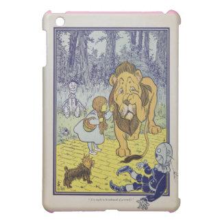 Lion lâche magicien d'Oz merveilleux de Dorothy Coques iPad Mini