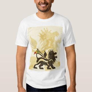 Lion Tan de Ras T-shirts