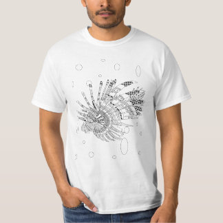 Lionfish-erwachsenes Farbton-Shirt T-Shirt