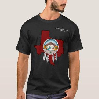 Lipan Apache der grundlegende schwarze T - Shirt