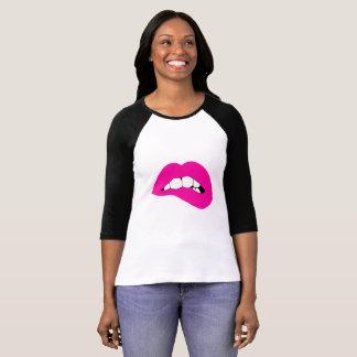 Lippenbiter-Jersey-Shirt T-Shirt