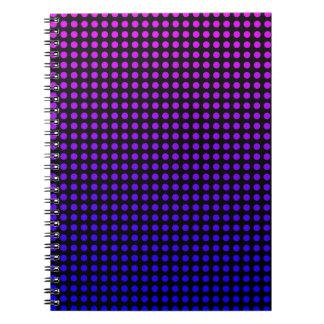 Liquidartz Entwürfe Spiral Notizblock