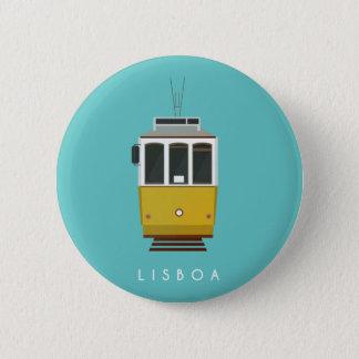 Lisbon Stift Runder Button 5,1 Cm