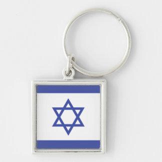 L'ISRAËL : Drapeau de l'Israël Porte-clé