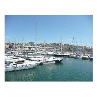 Lissabon-Docks Postkarte