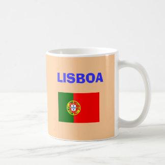 Lissabon-Flughafen-Tasse Kaffeetasse