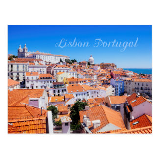 Lissabon Portugal Postkarte