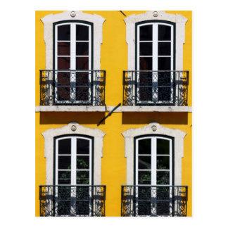 Lissabon, Portugal, Postkarte