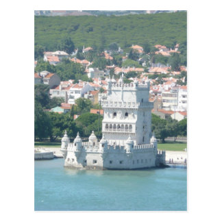 Lissabon, Portugal Postkarte