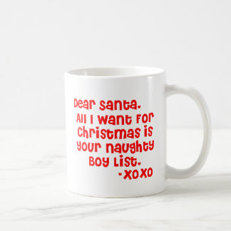 Liste des frechen Jungen Kaffeetasse