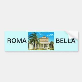 L'Italie vintage, Rome, les Mura de fuori de S Pau Autocollants Pour Voiture