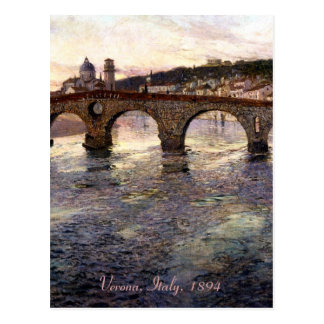L'Italie vintage (Vérone, Circa 1894) Cartes Postales