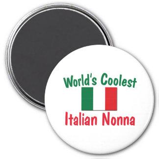 L'Italien le plus frais Nonna Magnet Rond 7,50 Cm
