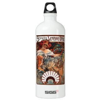 "Lithographie ""Kekse Lefèvre-Utile "" Wasserflasche"