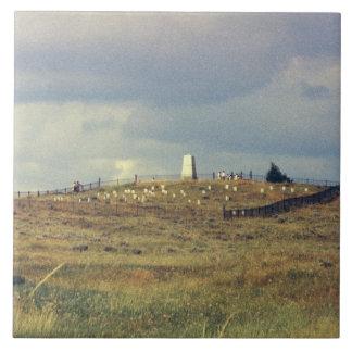 Little Bighorn-Schlachtfeld-nationales Monument Fliese