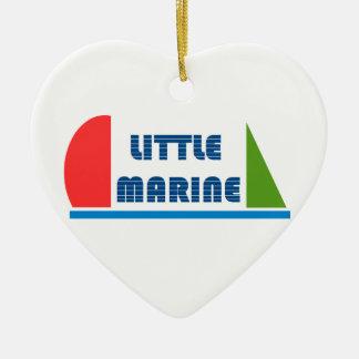 little mariniert keramik ornament