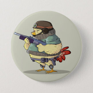 Little Soldier Runder Button 7,6 Cm