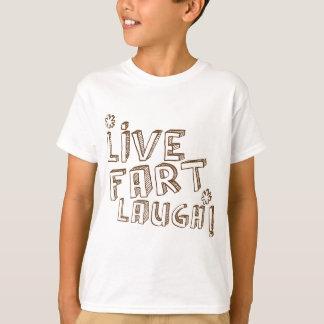 LiveFurzlachen! niedlicher und lustiger farty T-Shirt
