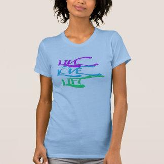 LiveLiebe-Aufzug Kettlebell Behälter-Spitze T-Shirt