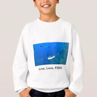 LiveLiebe-Fische Sweatshirt
