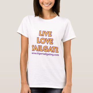 LiveLiebe-Heckklappen-TigerTailgating T-Shirt