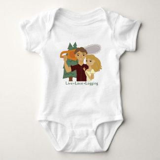 LiveLiebe-Protokollierung Baby Strampler