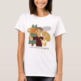 LiveLiebe-Protokollierung T-Shirt