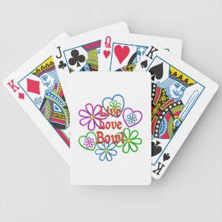 LiveLiebe-Schüssel Bicycle Spielkarten