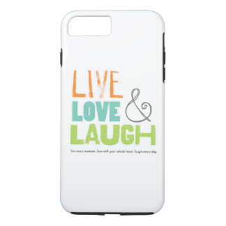 LiveLiebelachen-Telefonkasten iPhone 7 Plus Hülle