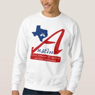 Livemusik-Hauptstadt Austins, Texas der Welt Sweatshirt