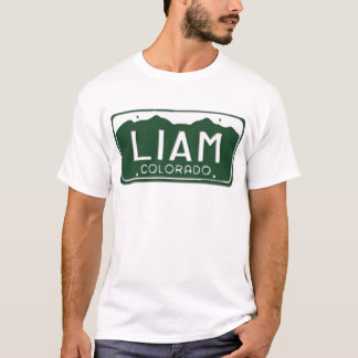 Lizenz-Platten-T - Shirt LIAM Colorado