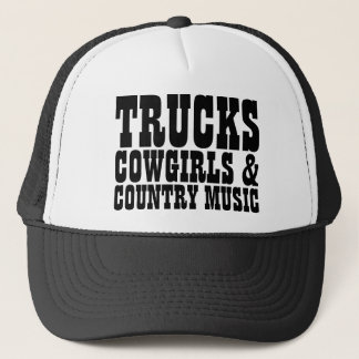 LKW-Cowgirls-Countrymusik Truckerkappe