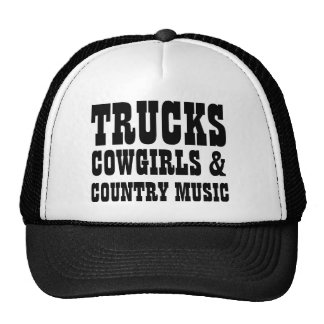 LKW-Cowgirls und Countrymusik Retrokultkappen